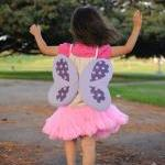 Dress Up Butterfly Drawstring Backp..