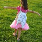 Dress Up Angel Drawstring Backpack